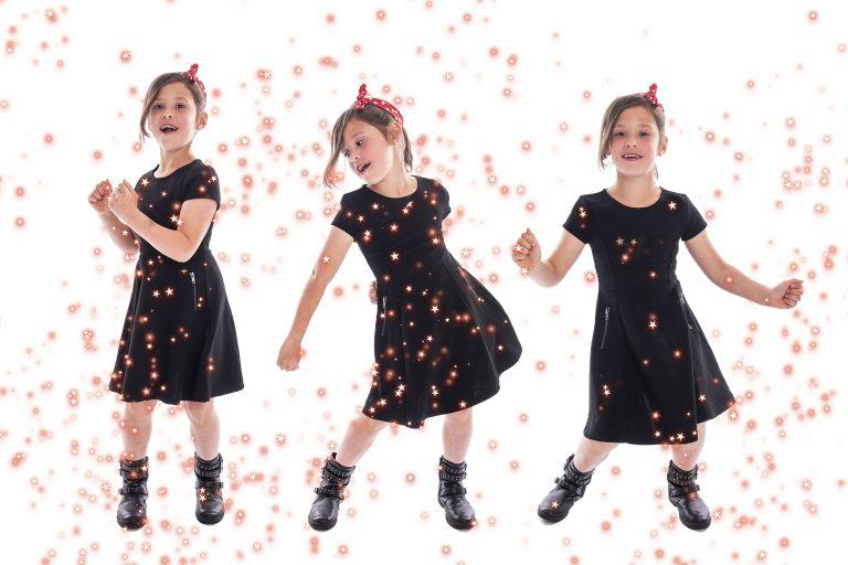 Haley als dancing queen