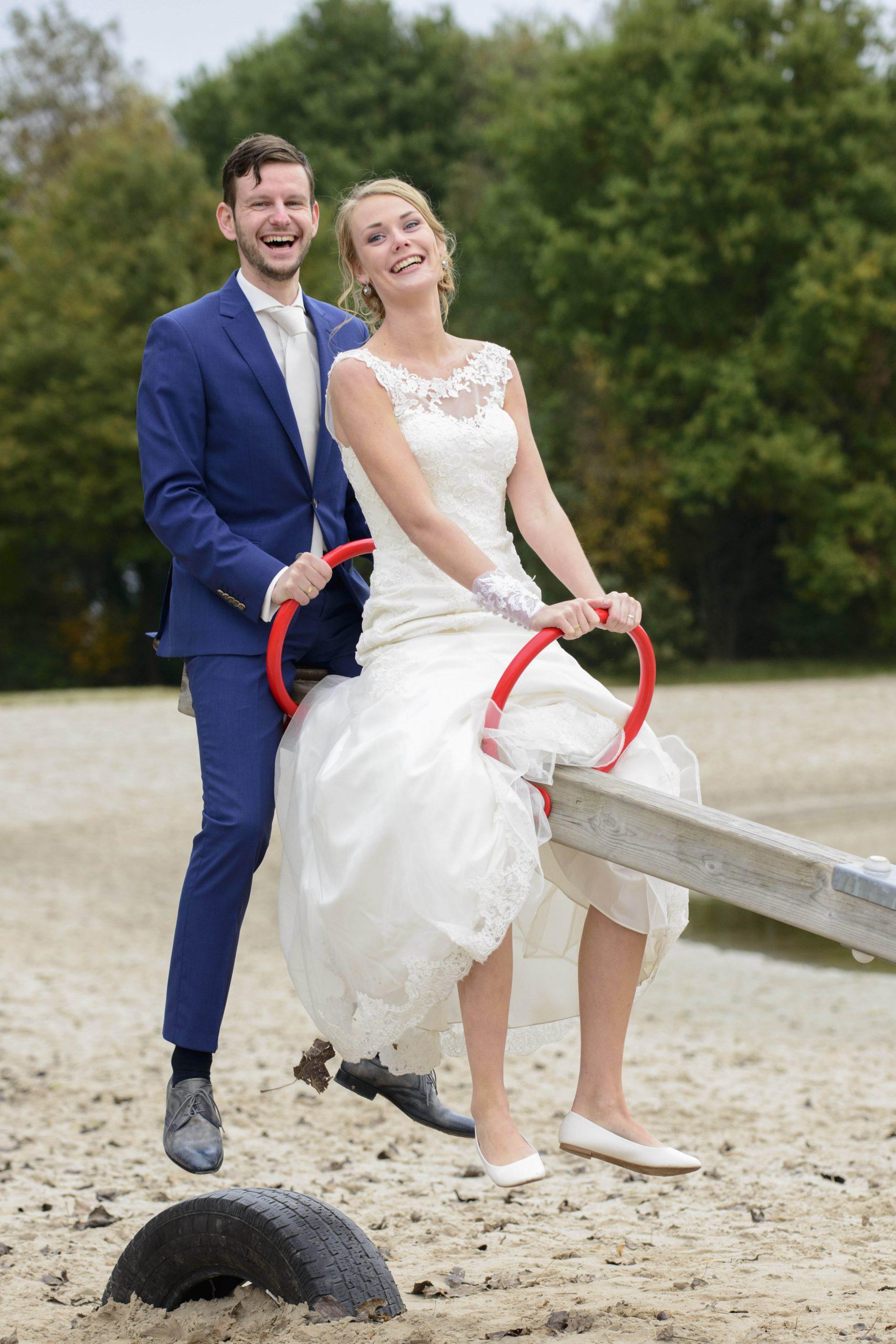 Loveshoot na trouwreportage