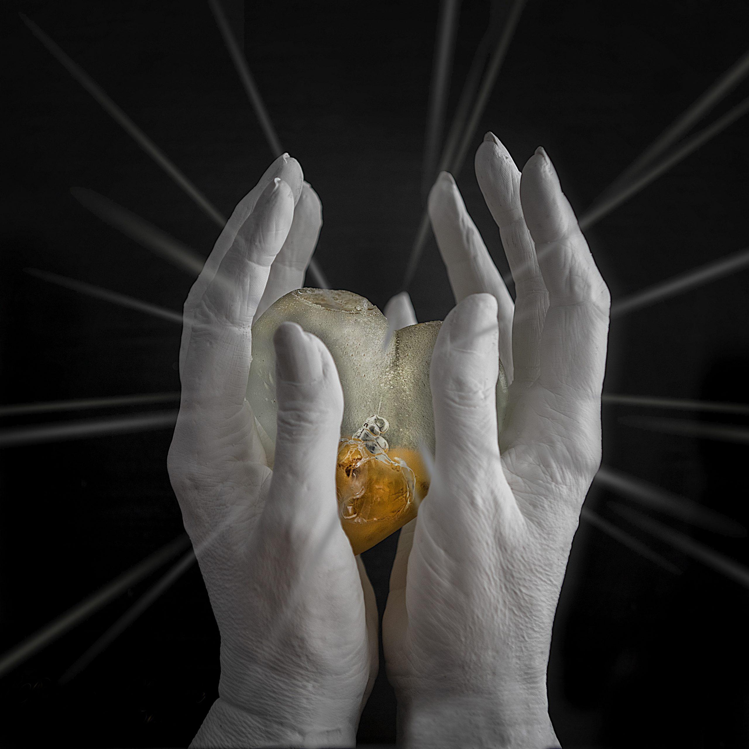 Afscheidsreportage handen en hart