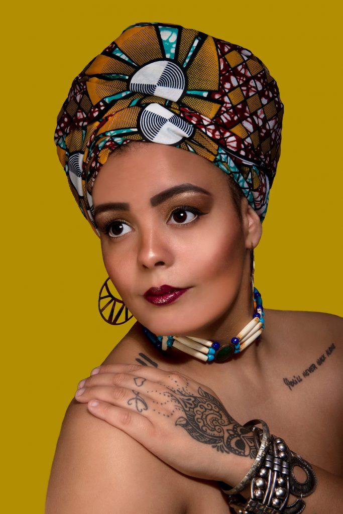 Glamour portfolio Afrikaanse stijl Mandy