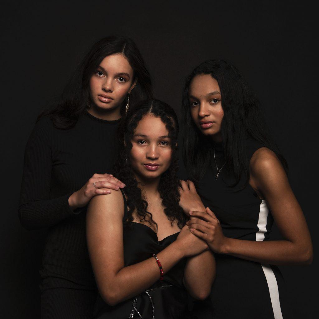 Vriendinnen Romy, Demi en Mandy